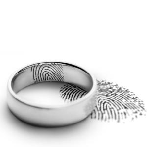 Trauring – Gravuren – Fingerabdruck